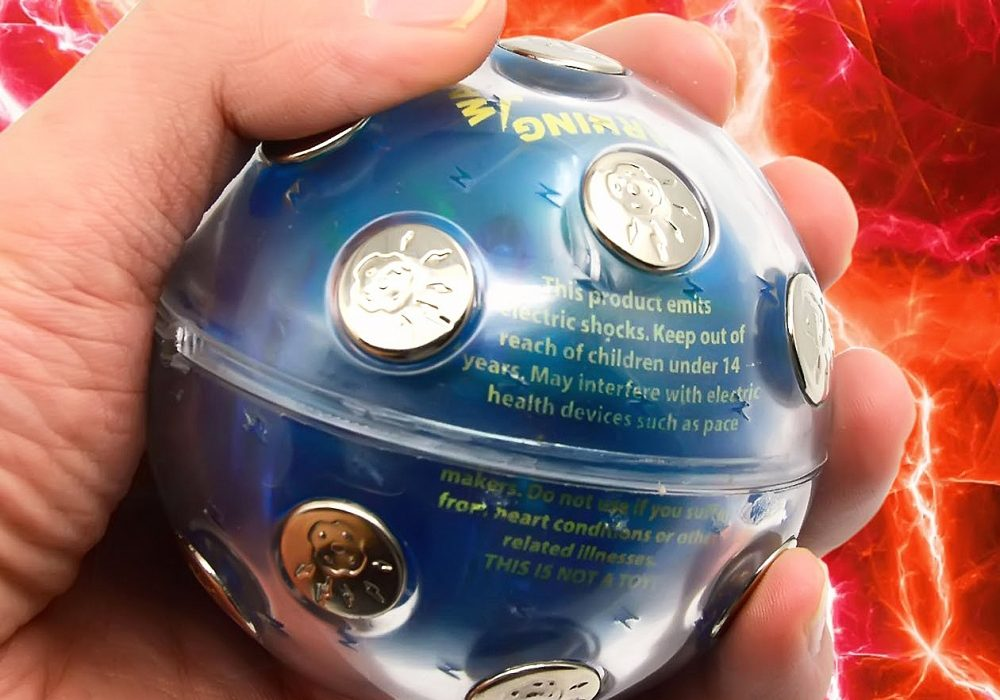 Shocking Ball Game Gift Idea For Kids