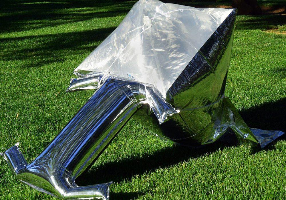 Silver Balloon Solar Cooker Great for Emergency Preparedness