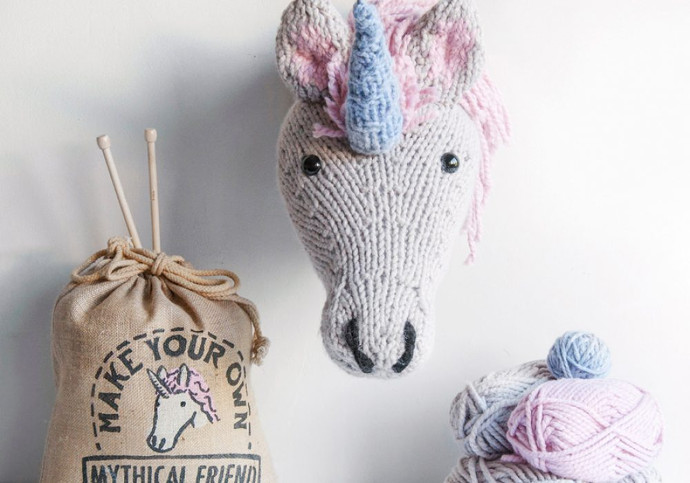 Sincerely Louise Faux Unicorn Knitting Kit DIY kits