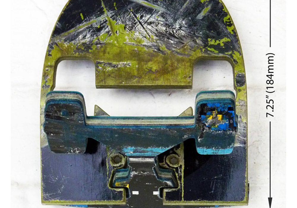 Skate Or Design Recycled Skateboard Coat Hook Good for Garment