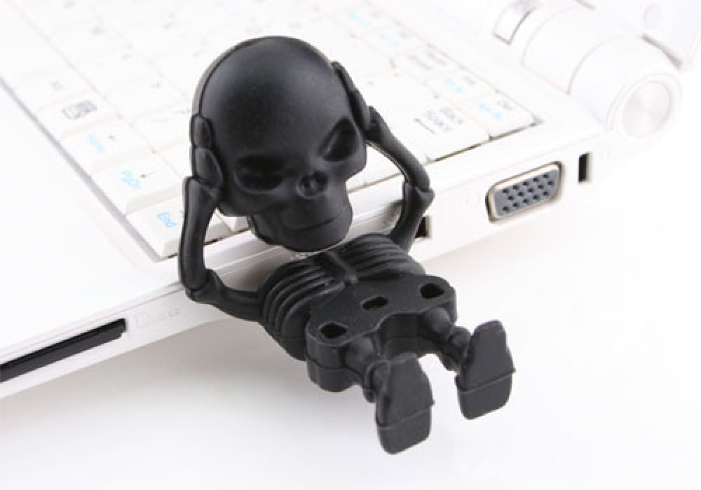Skeleton Flash Drive Cheap Cute Gift Ideas for Technology Lovers