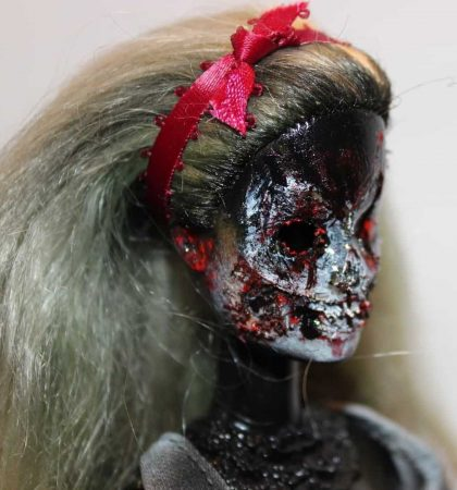 Skull Faced Undead Barbie