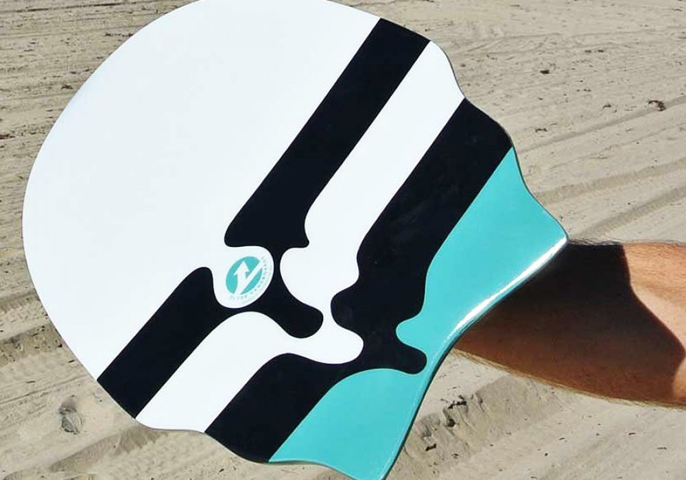 Slyde Handboards Racketeer Wedge Handboard Nice Novelty Item