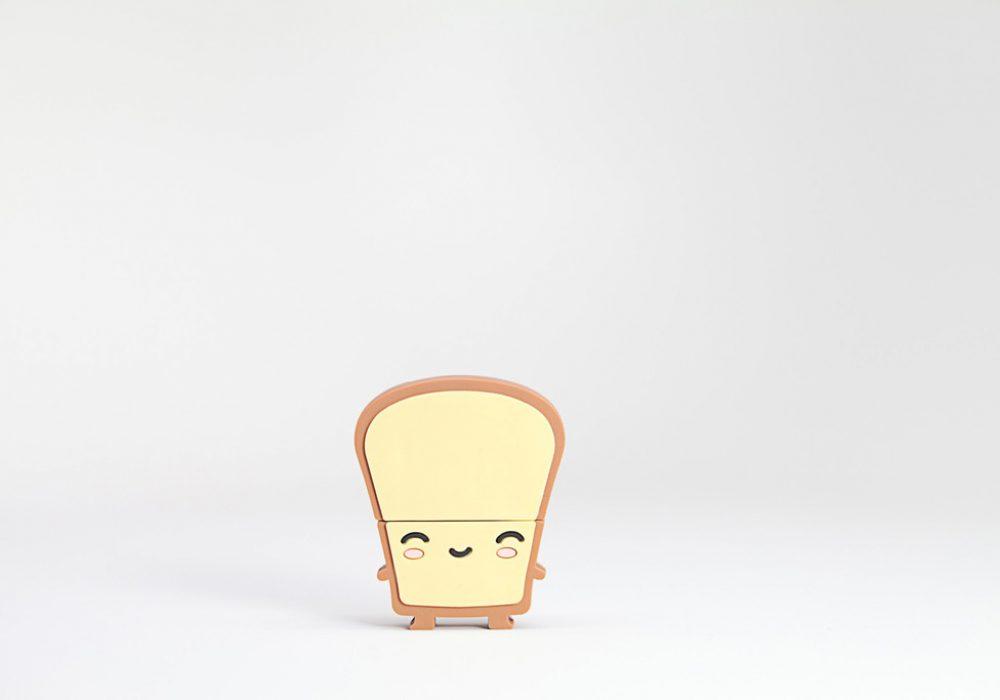 Smoko Toast USB Flash Drive 8GB Butta Happy Bread