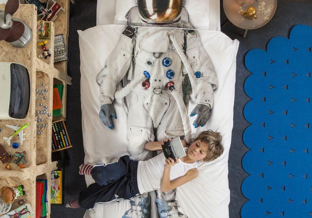 Snurk Astronaut Duvet Cover Buy Kid Bed Sheet