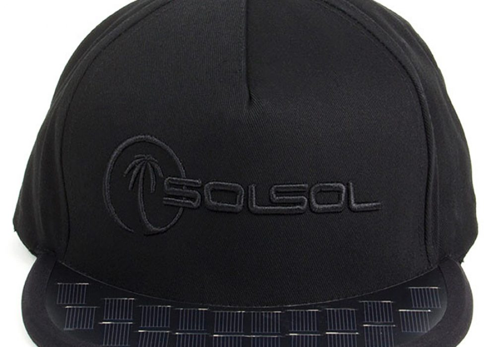 Solsol Solar Hat Awesome Snapback