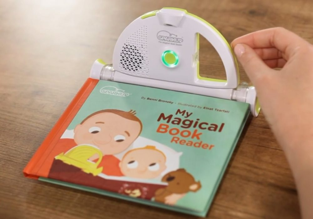 Sparkup The Magical Book Reader Cool Gift Idea for Kids