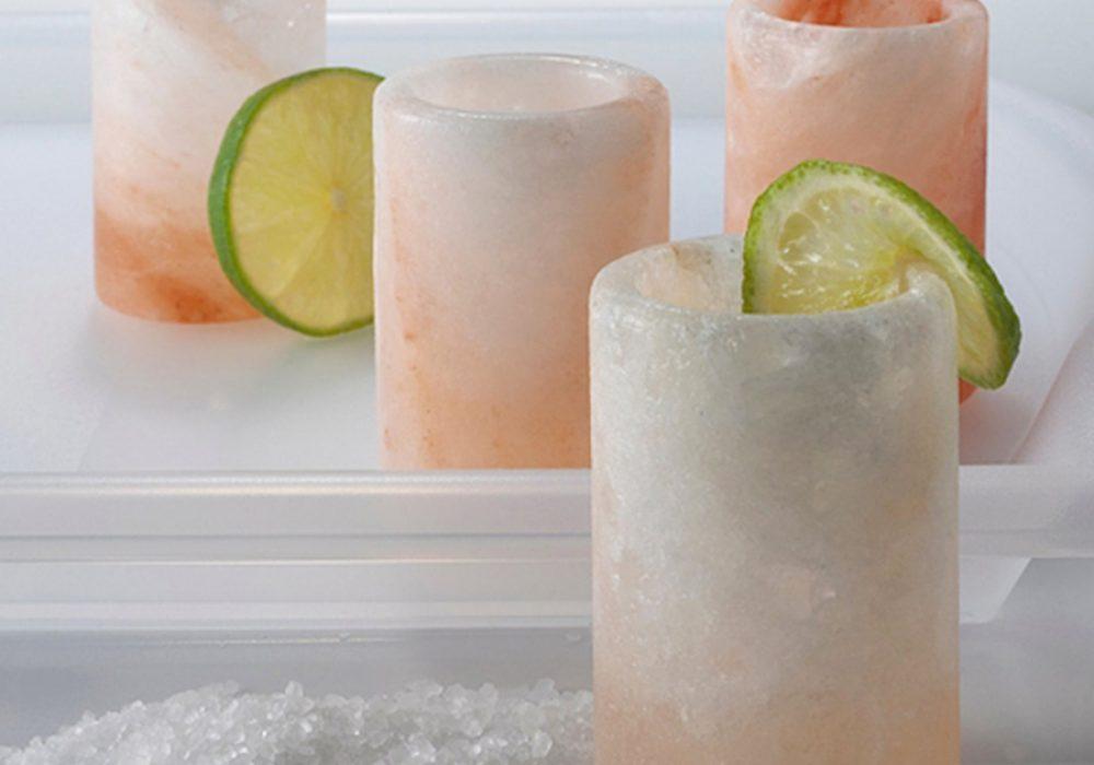 Spice Lab Himalayan Salt Shot Glasses Food Grade Himalayan Pink Salt