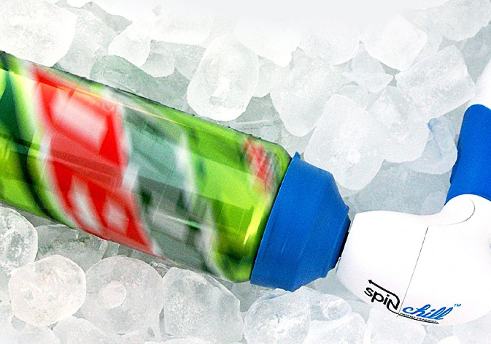 SpinChill Portable Drink Chiller Great for Outdoor Events