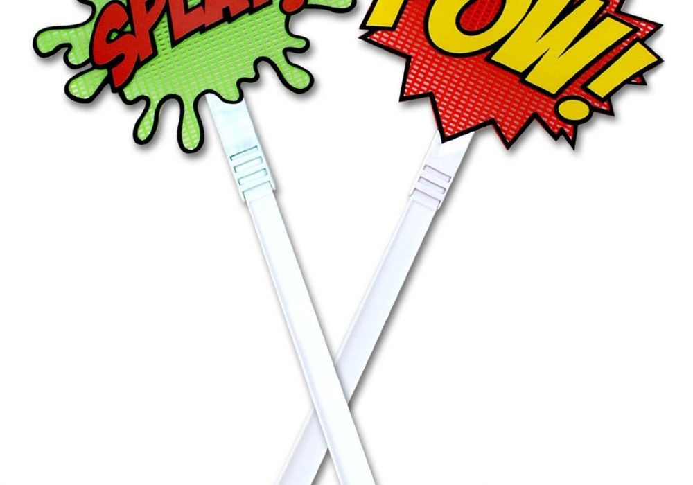 Splat and Pow Batman Fly Swatters