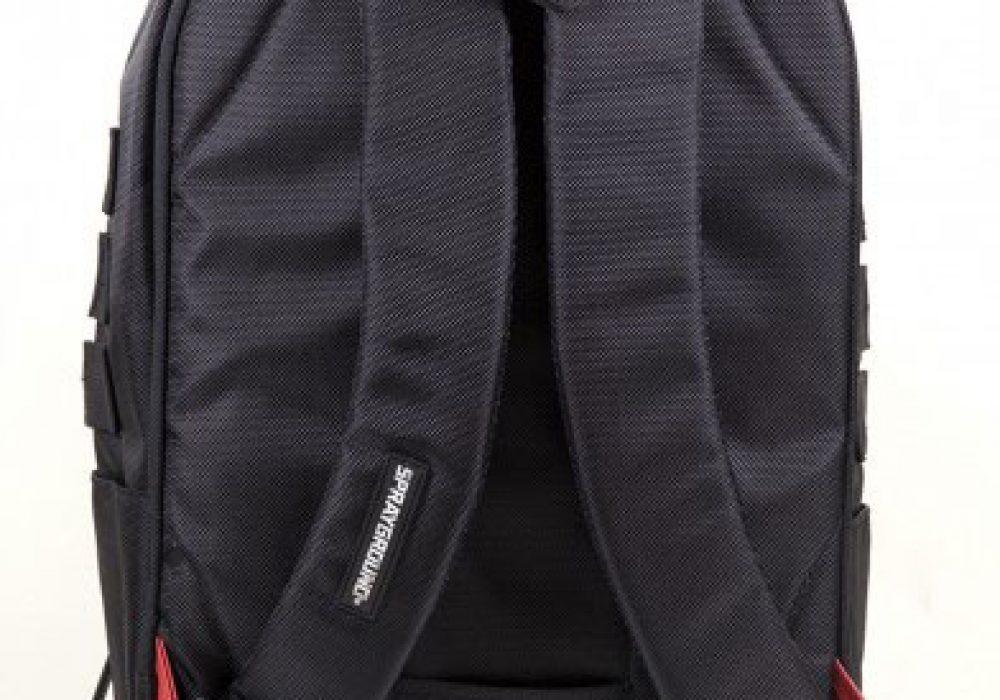 Sprayground $tashed Money Black Backpack Straps