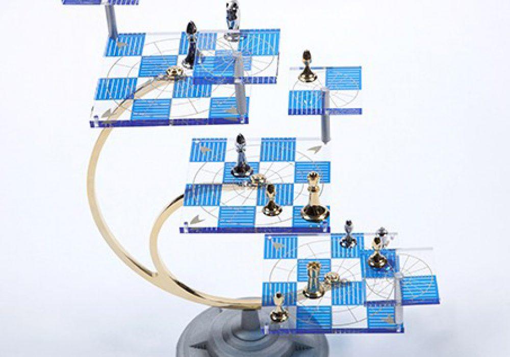 Star Trek Tri Dimensional Chess Noveltystreet