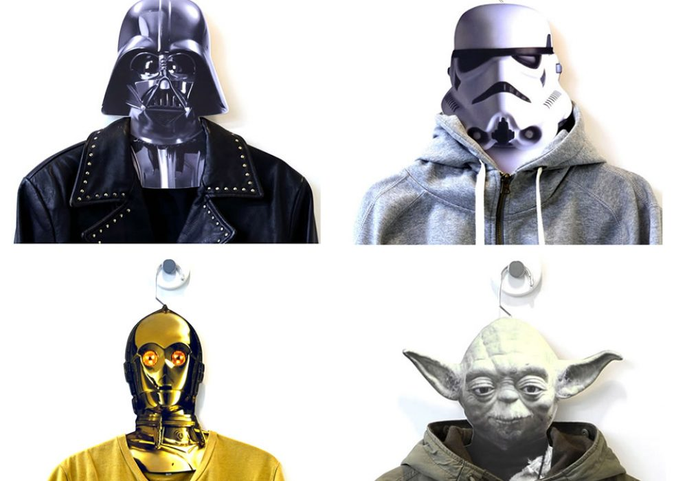 Star Wars Clothes Hangers Chilling Out in your Closet