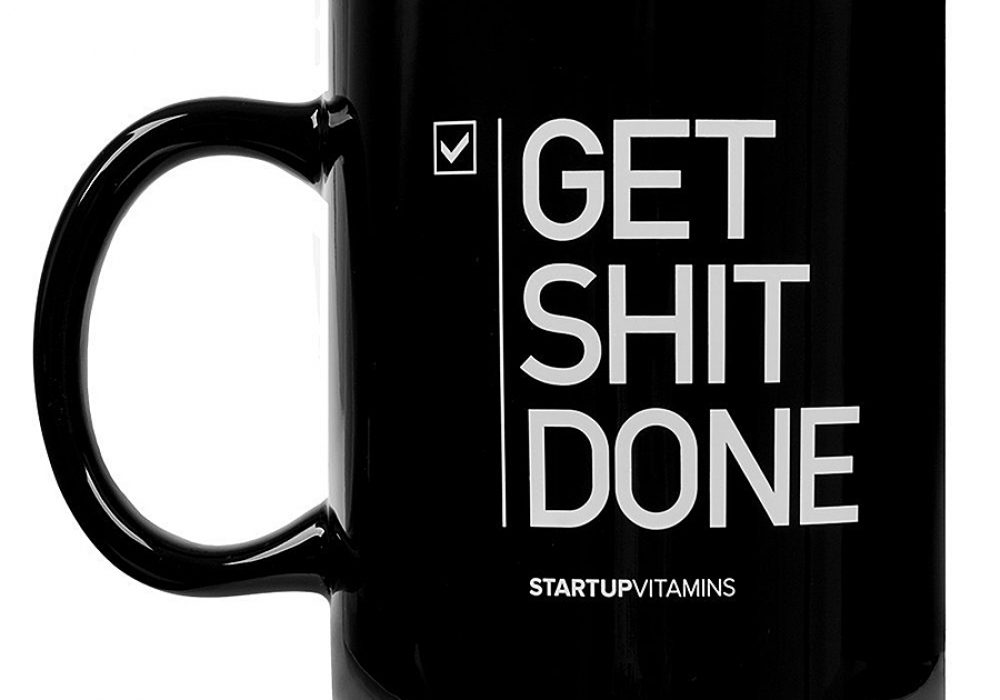Startup Vitamins Get Shit Done Coffee Mug Ceramic