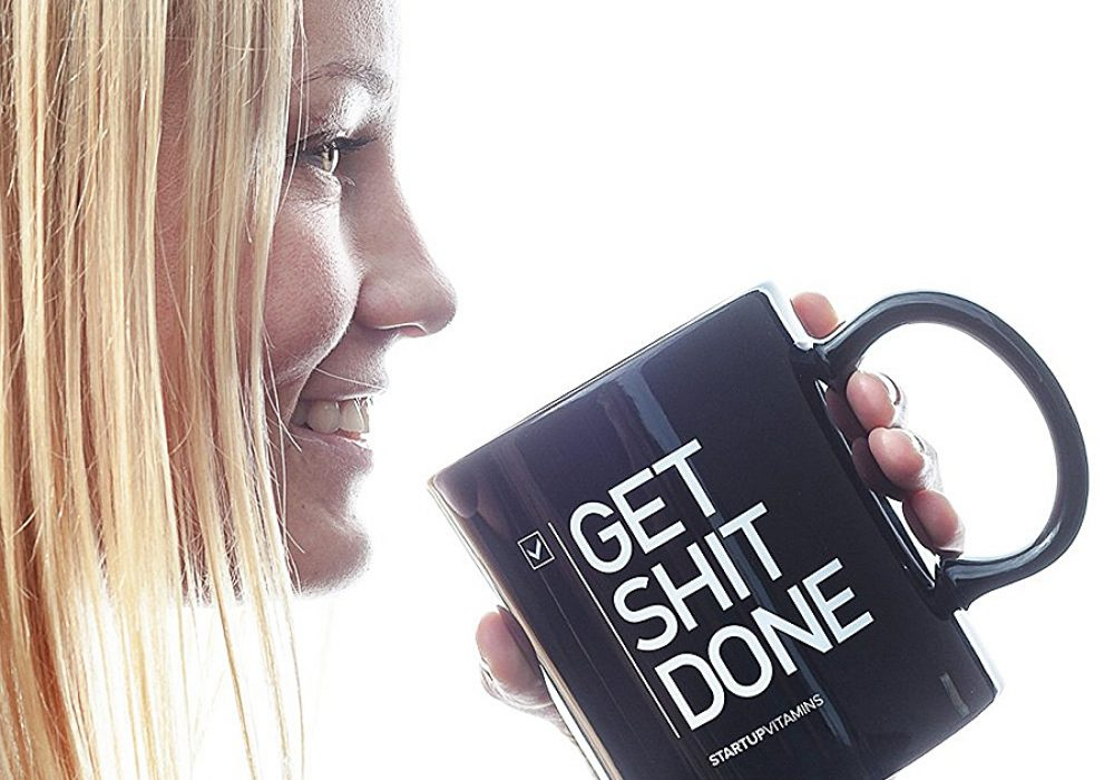 Startup Vitamins Get Shit Done Coffee Mug Mugs
