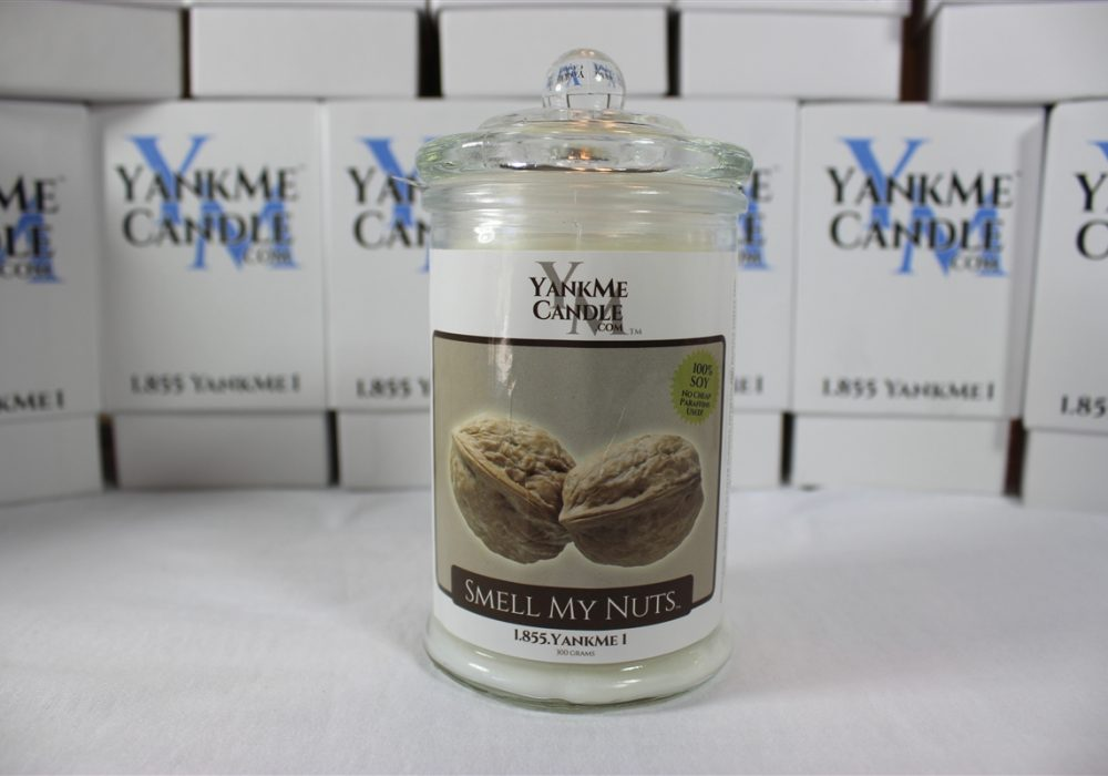 Stinky Candle Smell My Nuts Scented Candle