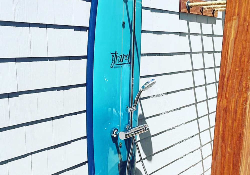 Strand Surfboard Shower Hand Crafted