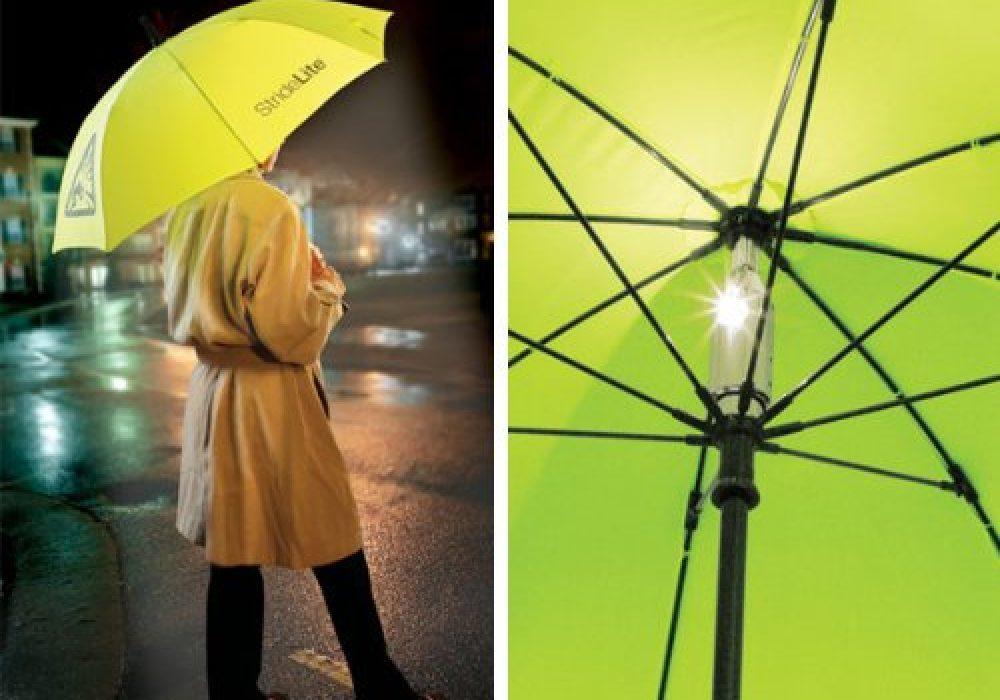 StrideLite Safe Walking Umbrella Be More Visible at Night Time