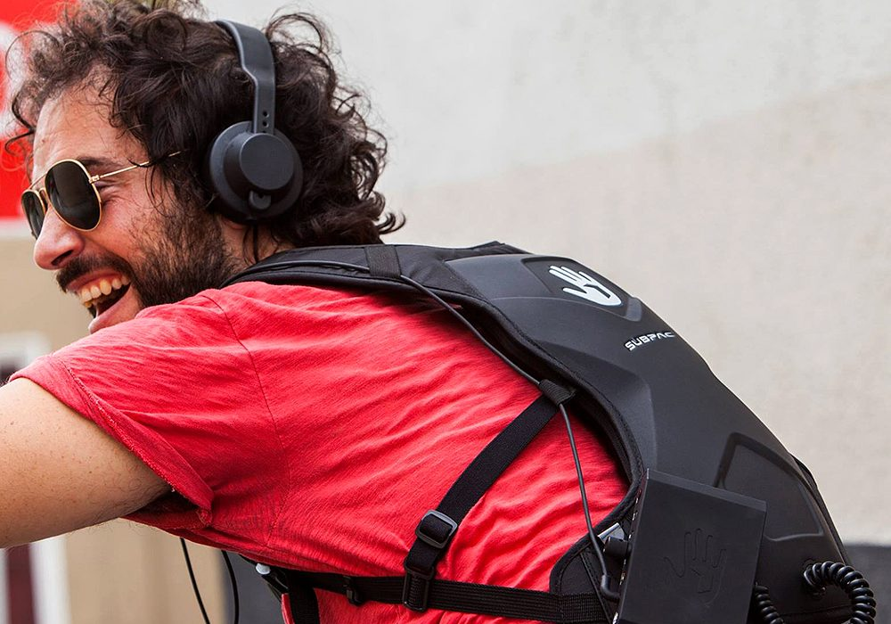Subpac M2 Wearable Tactile Bass System Electronic Equipment