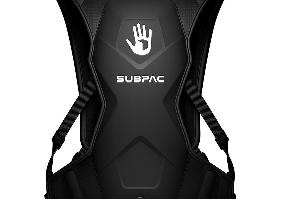 Subpac M2 Wearable Tactile Bass System Sound Mixer