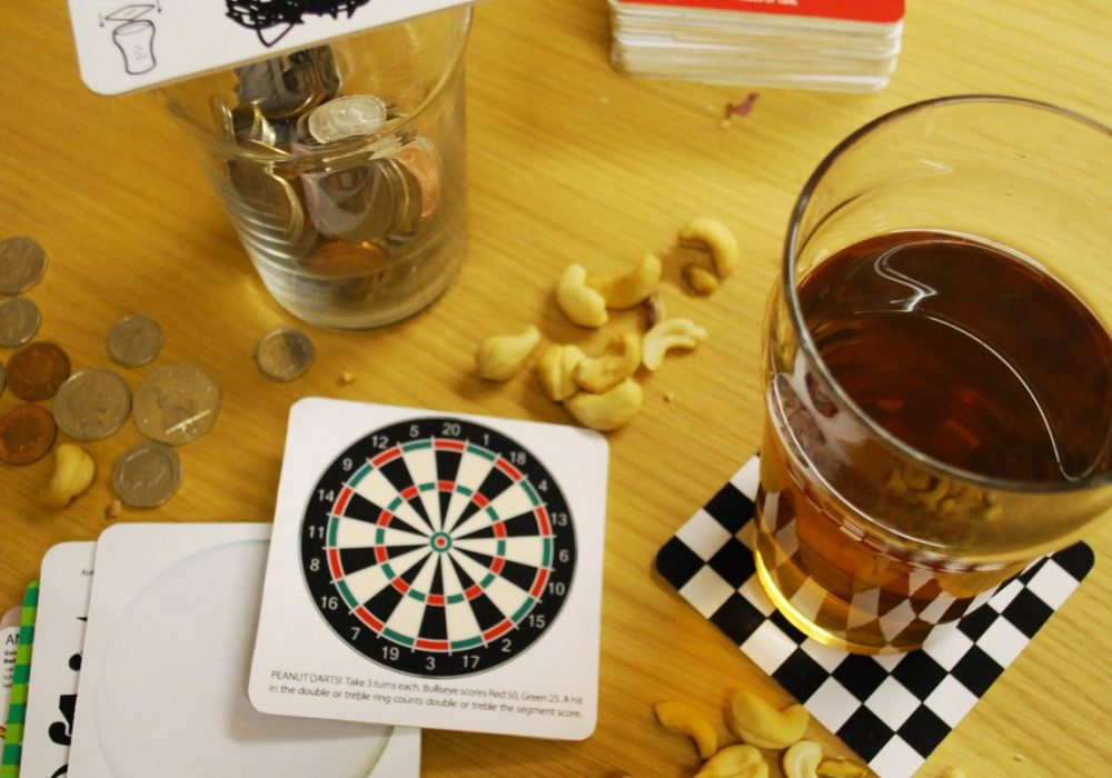 Suck UK Bar Games Beer Mats Cool Stuff to Buyl