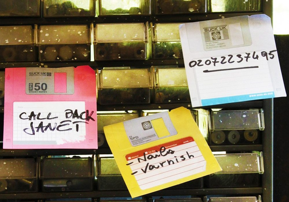 Suck UK Floppy Disk Sticky Notes Cool Memo Pads to Buy