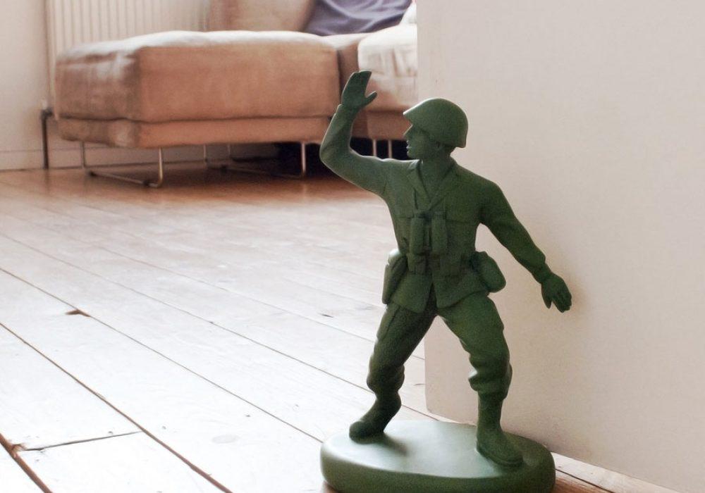 Suck UK Homeguard Soldier Door Stop Cool Gift to Buy Kids