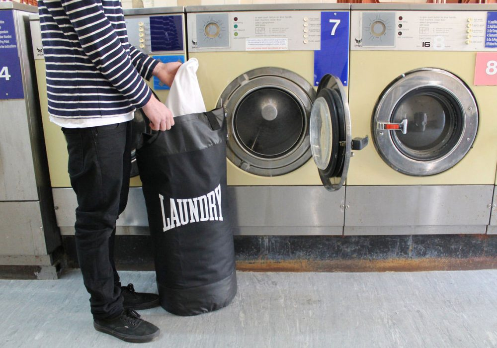 Suck UK Punch Bag Laundry Bag Black