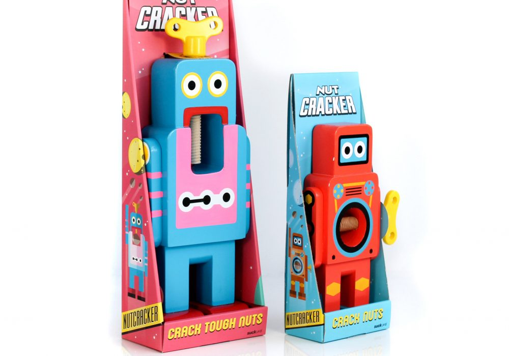 Suck UK Robot Nutcracker Cute Boxes