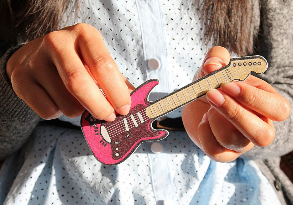 Suck UK Rockstar Guitar Nail Files Cool Gift to Buy Niece
