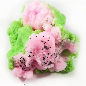 Summer Melon Pop Scented Green Pink Slime