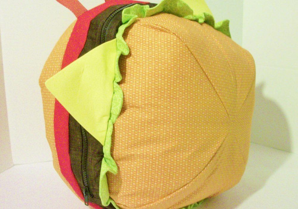 Sunshine Sisters Cheeseburger Backpack Buy Cool Novelty Bag for Kids