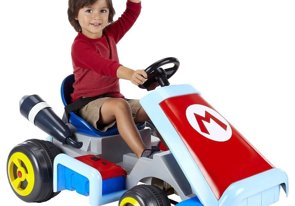 Super Mario Cart Ride On Vehicle Cool Nintendo Gift