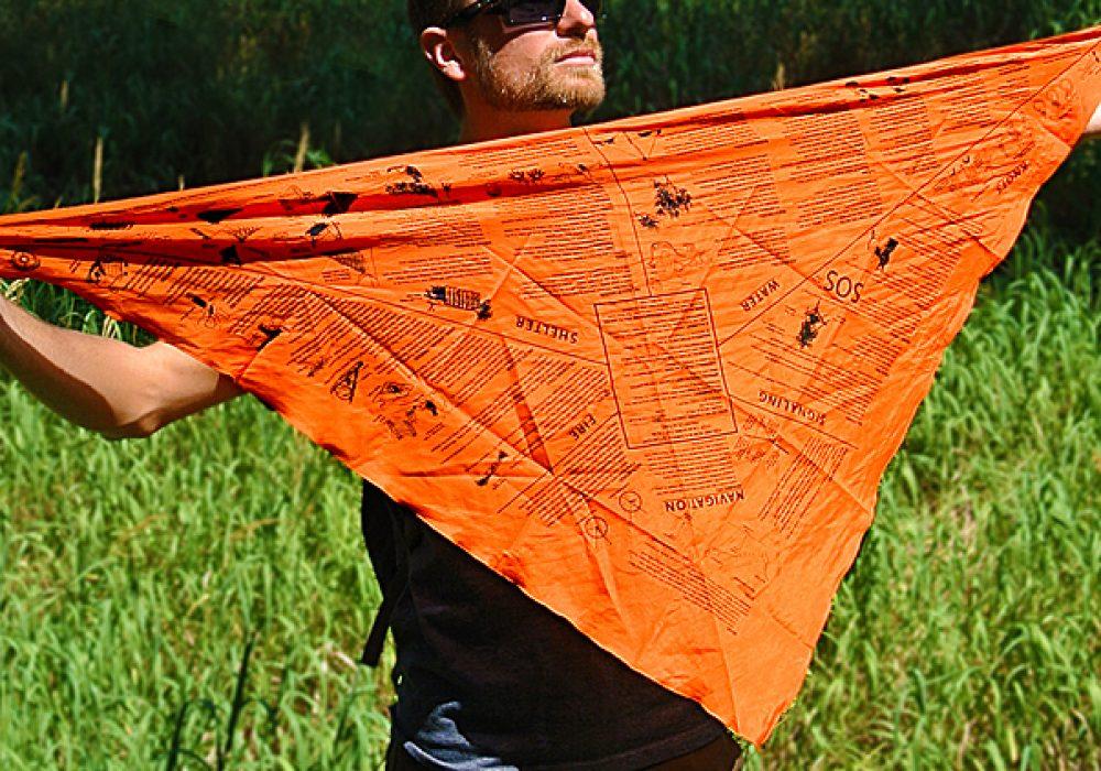 Survival Metrics Head for Survival Triangular Bandana Prepper Gift Idea