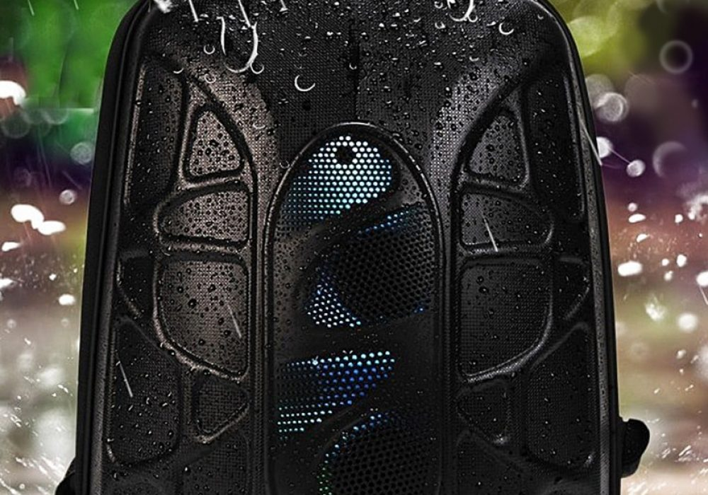 trakk-shell-waterproof-multi-function-bluetooth-speaker-backpack-hard-shell-material