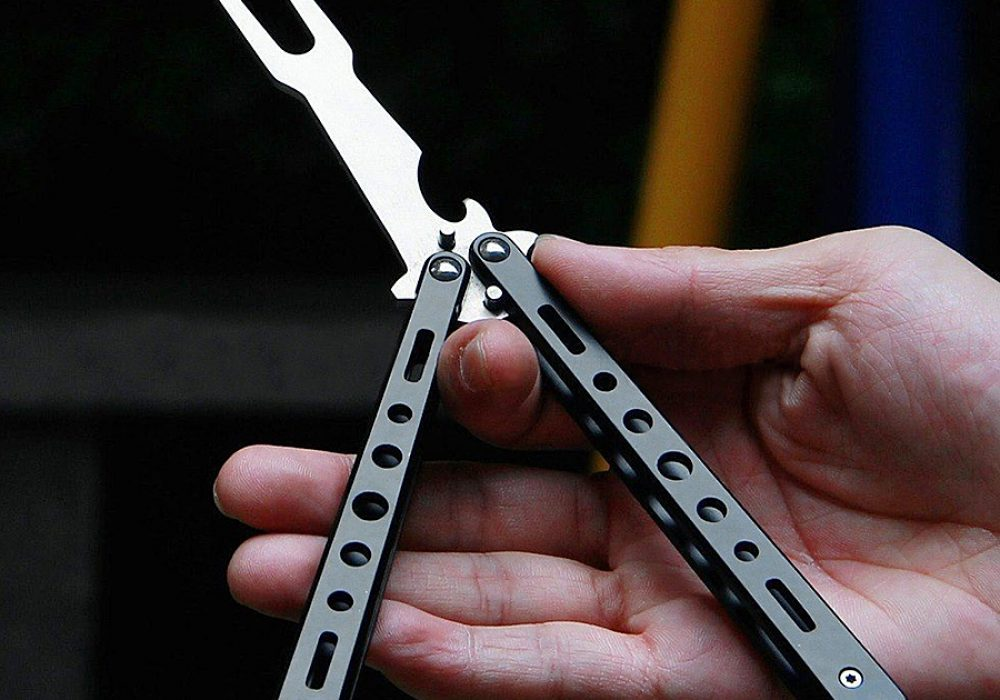 Tactical Folding BBQ Fork Survival Tool