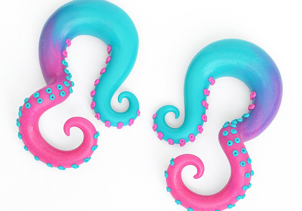 Tania Chernova Tricolor Octopus Gauge Cool Fashion Stuff