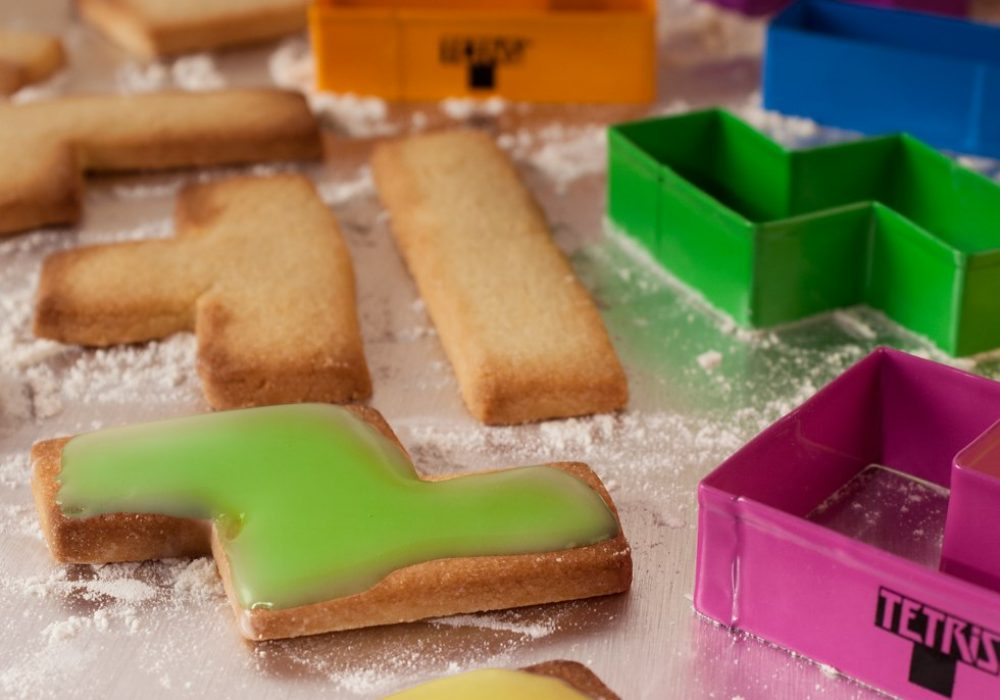 Tetris Cookie Cutters Geek Cookie