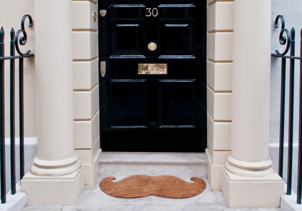 Thabto Mustache Door Mat Buy House Warming Gift