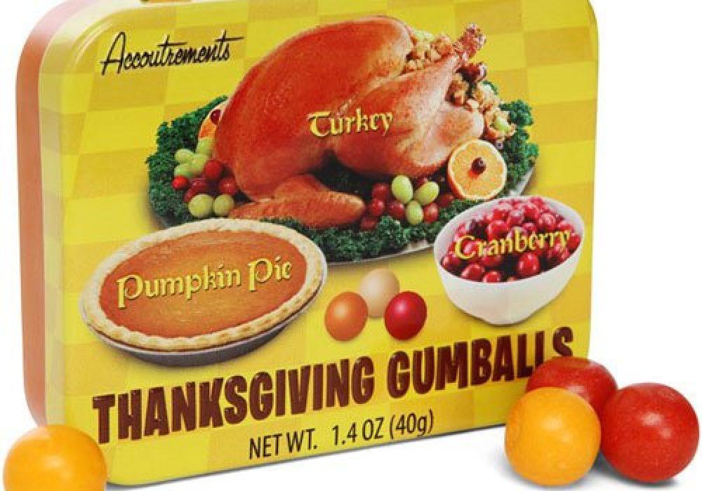 Thanksgiving Gumballs Weird Stuff to Buy Great Gag Gift