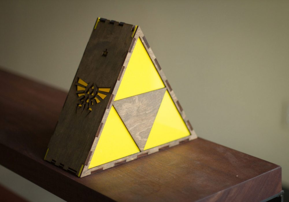 The Back Pack Shoppe Zelda Triforce Lamp Boyfriend Gift Idea