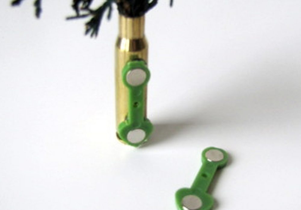 The Backyard Gardener Bullet Shell Boutonniere Clothes Accessory
