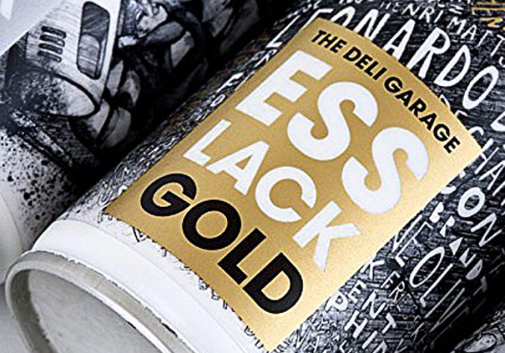 The Deli Garage Esslack Gold Food Spray Novelty Product