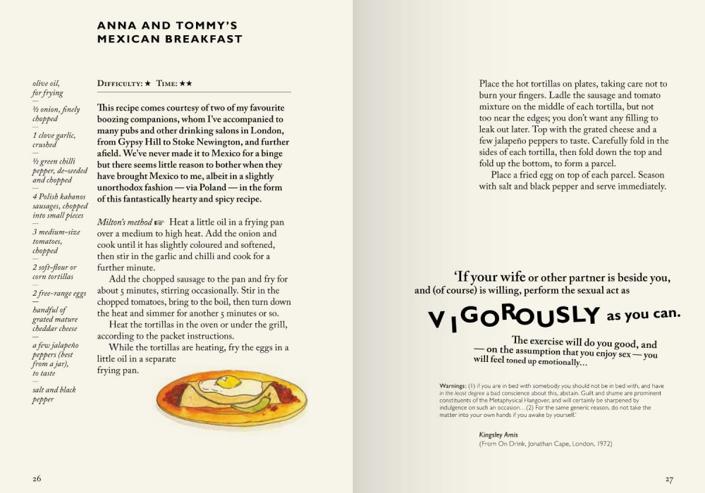 The Hungover Cookbook 1