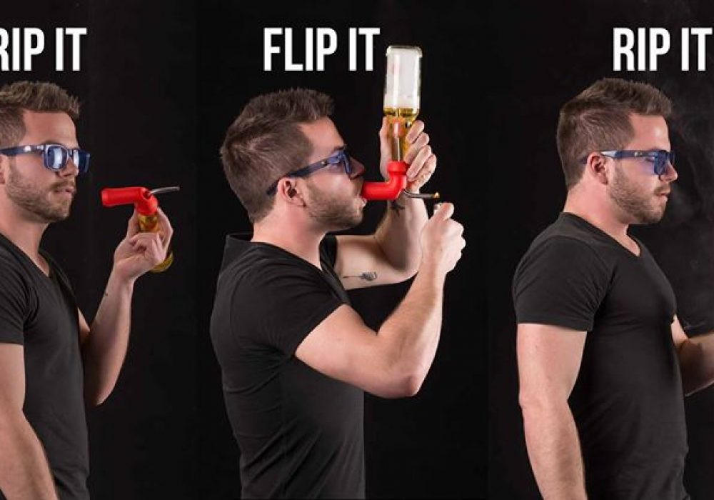 The Knockout Beer Gravity Pipe Unique Gift Idea for Him