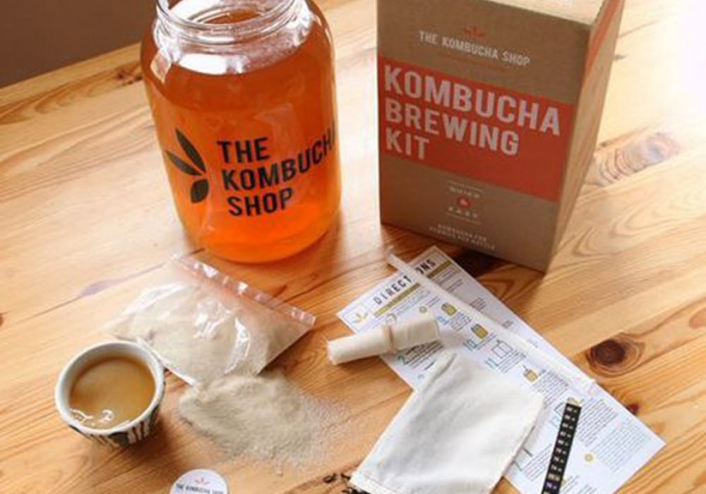 The Kombucha Shop Kombucha Brewing Kit Home Brew