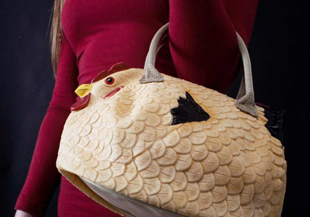 The Original Chicken Handbag Fowl Fashion