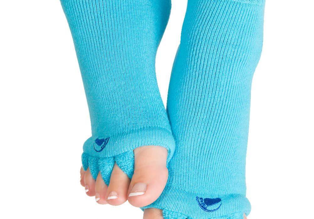 The Original Foot Alignment Toe Separator Socks Cool Innovative Fashion