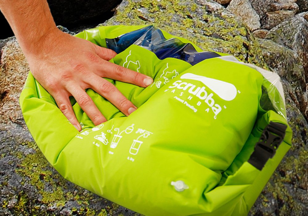 The Scrubba Wash Bag Camping Stuff to Buy