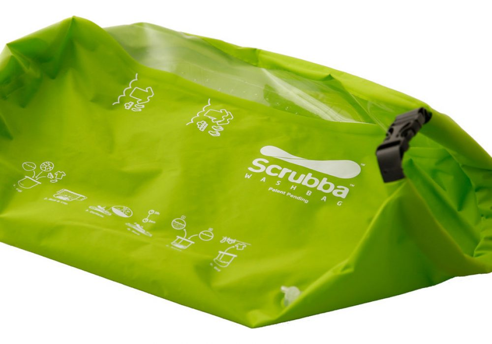 The Scrubba Wash Bag Cool Invention